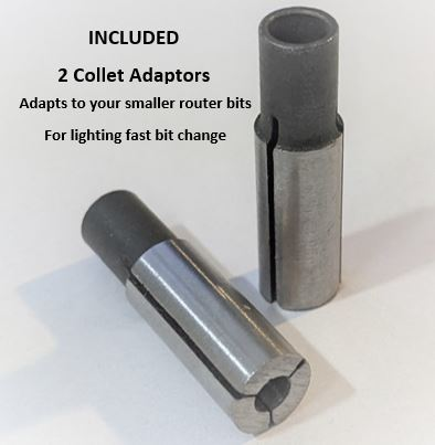 CNC Router Adaptor Collets