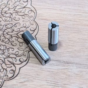 Buy 1/4-1/8 collet adaptor reducer for CNC router bits