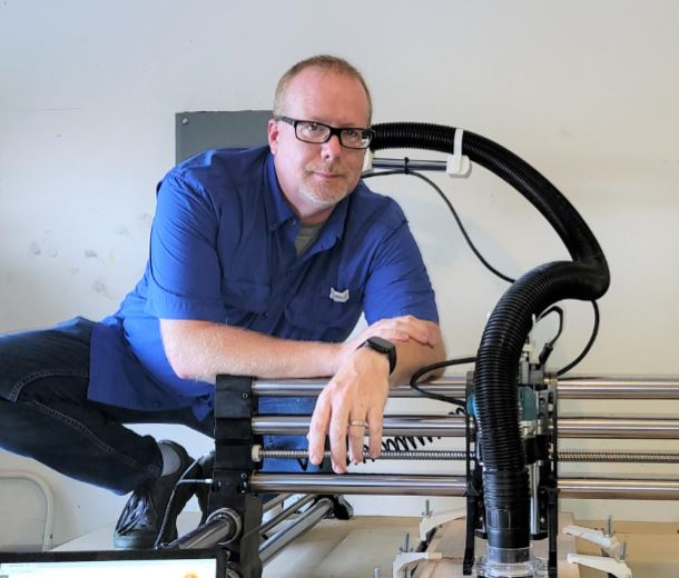 CNC Technical Support Jeff Holmes